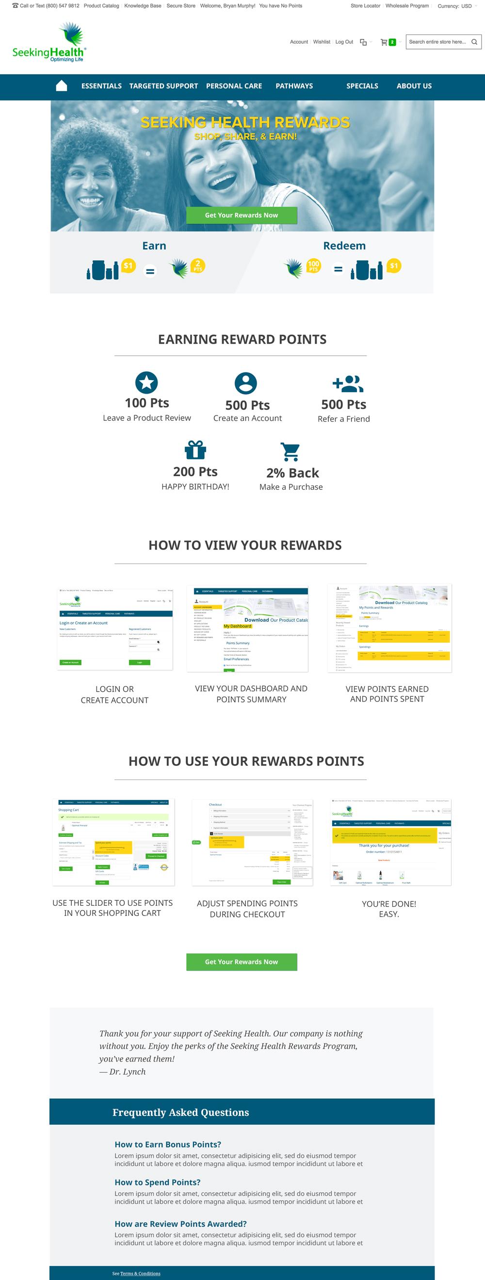 Marketing-Rewards-Landing-Page